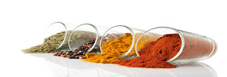 Spices, herbs, flavourings, other additives, etc.