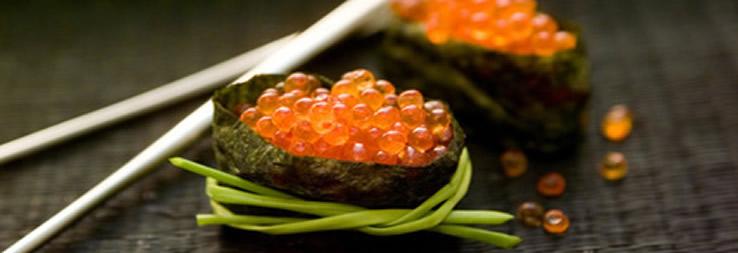 Verarbeitung von Fischrogen