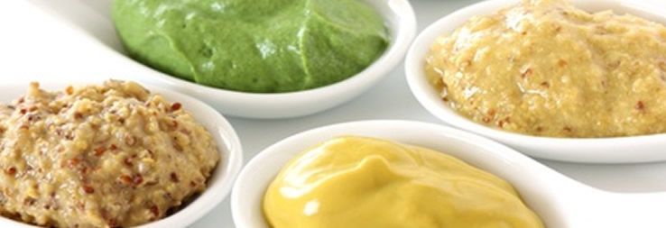 Saucen, Dressings & Cremes